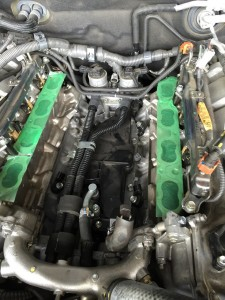 LX570 エンジン故障