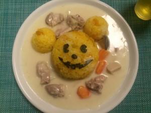 ミッキー シチュー ハロウィン 料理 レシピ