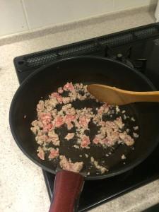 麻婆豆腐 ひき肉炒め