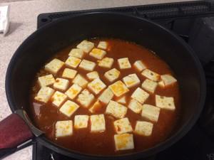 麻婆豆腐 炒め