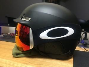 スノーボード smithヘルメット オークリー Flight Deck
