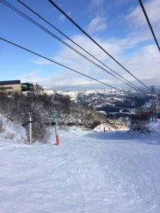 石打丸山スキー場 2016年1月10日