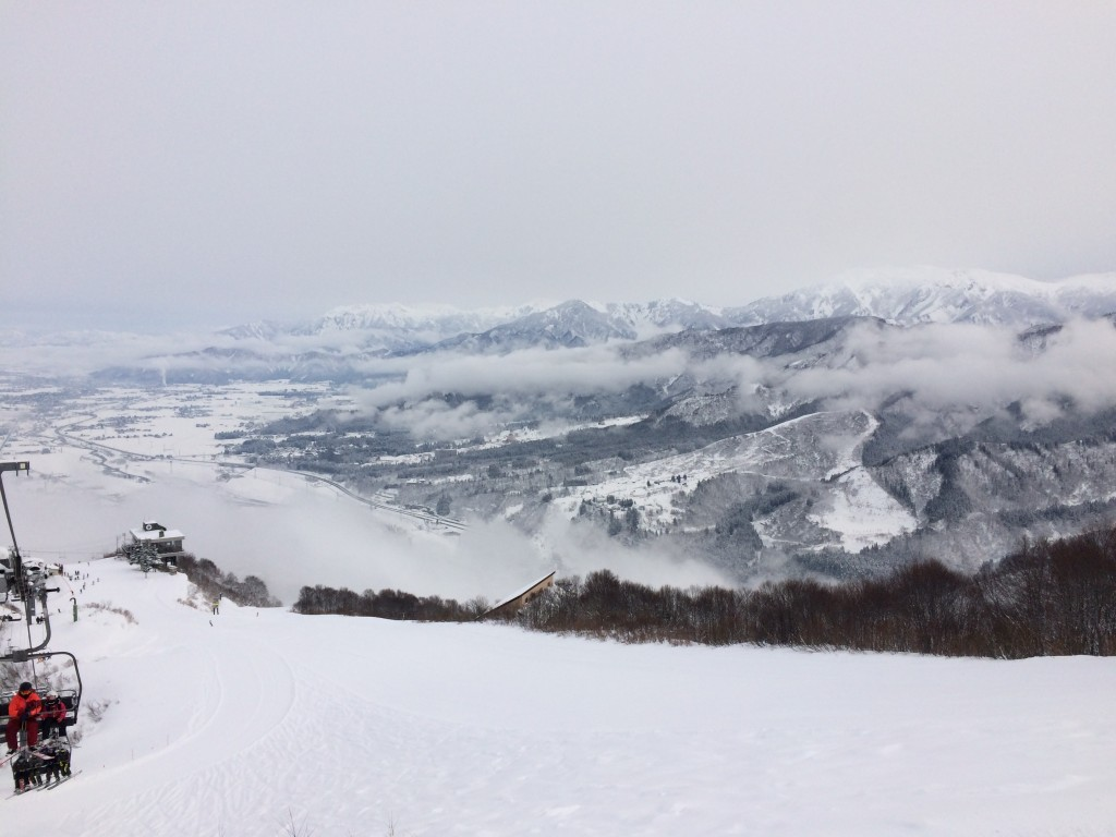 石打丸山 2016年1月23日 ゲレンデ