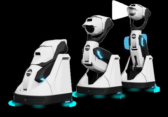 プロジェクター搭載ロボット Tipron
