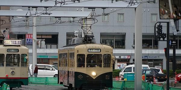 【鉄道】富山地方鉄道 市内線 レトロ電車