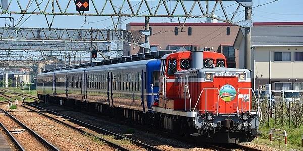【鉄道】DL青い12系客車