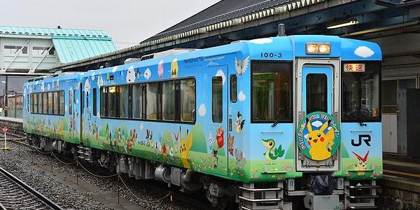 【鉄道】ポケモントレイン気仙沼