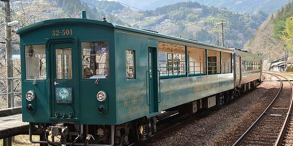 【鉄道】絶景!土讃線秘境トロッコ