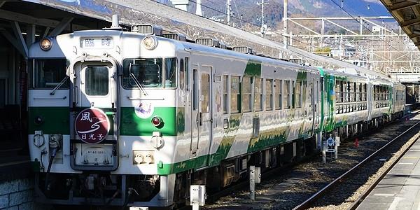 【鉄道】風っこストーブ日光初詣