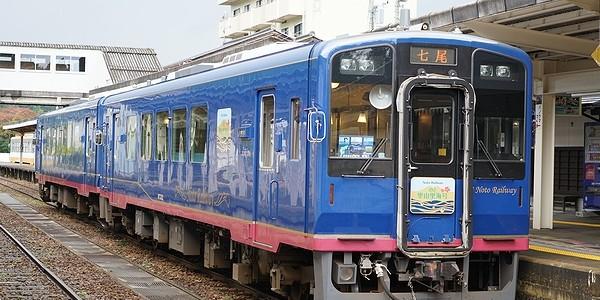 【鉄道】のと鉄道 のと里山里海号