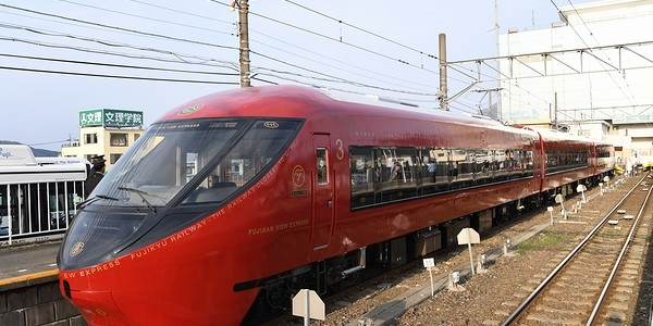 【鉄道】富士急行 富士山ビュー特急