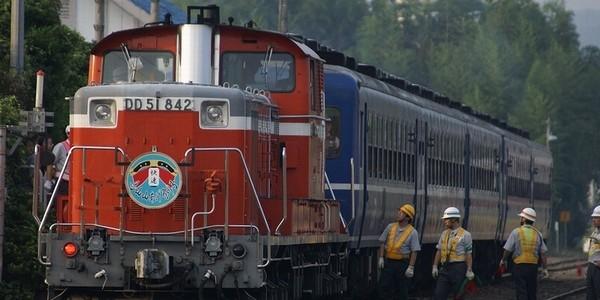 【鉄道】烏山山あげ祭り 2007