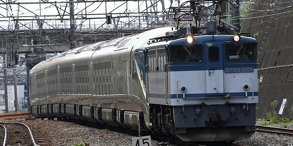 【鉄道】鉄聞!!『四季島』兵庫から東京車両基地(尾久)に甲種輸送されました。