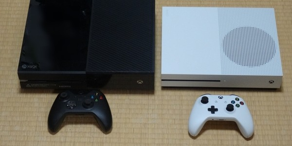 【GAME】『XBOX ONE S』と『XBOX ONE』