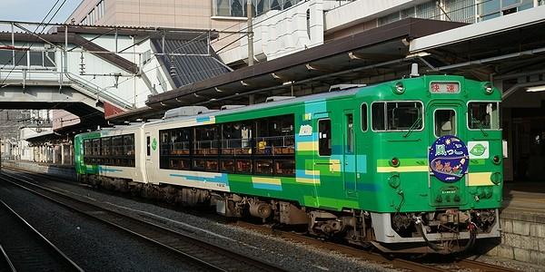 【鉄道】風っこサンタ