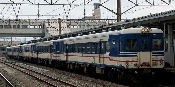 【鉄道】急行 新潟色キハ58・キハ52