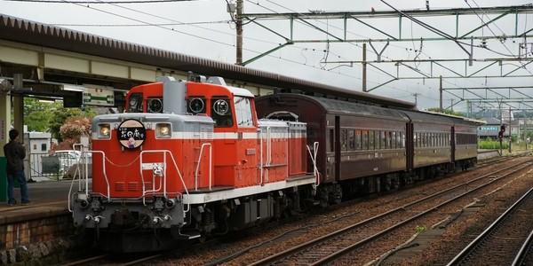 【鉄道】レトロ花回廊