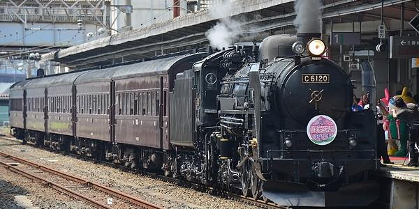 【鉄道】SLふくしま復興