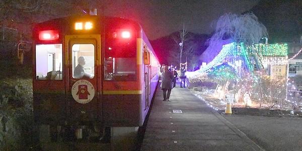 【鉄道】わたらせ渓谷鉄道 クリスマス列車