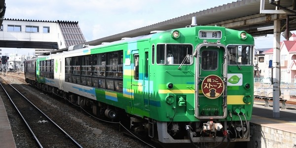 【鉄道】風っこストーブ女川