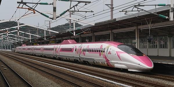 【鉄道】新幹線 500系 JR西日本 ハローキティ新幹線