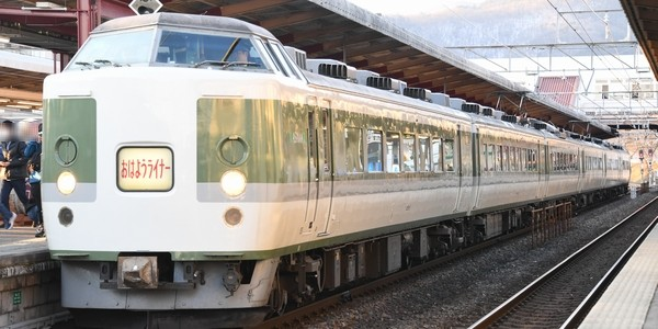 【鉄道】おはようライナー (塩尻ー長野)