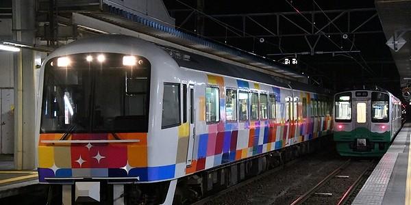 【鉄道】ナイトランきらきらうえつ